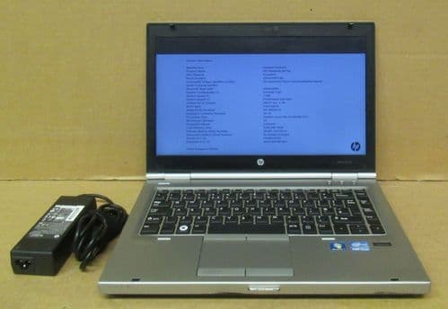 "HP Elitebook 8470p 14"" HD i5-3320M 2.6Ghz 4GB Ram 500GB Win10 Pro Laptop A1J04AV"
